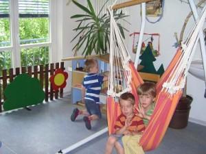 Das Puppenhaus im Querkraum, kath. Kindergarten St. Marien