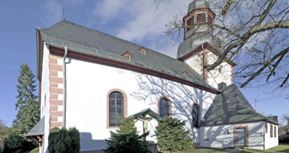 Die Pfarreien <br> Dörrebach und <br>Seibersbach